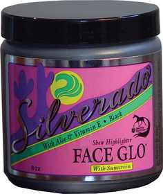 Healthy Haircare Silverado Face Glo Black / 8 Ounce - Sfgbk