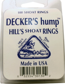 Decker Hills #2 Shoat Ring / 100 Count - #2