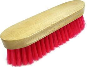 Imported Horse &Supply Bedford Brush Red / 9 X 2.5 Inch - 245597