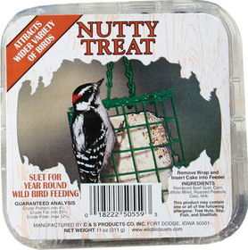 C And S Nutty Treat Picture Label Suet / 11.75 Ounce - 2450559