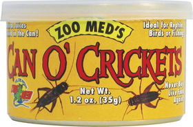 Zoo Med Can O Crickets / 1.2 Ounces - Zm-41