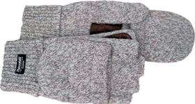 Boss Raggwool Fingerless Glove Gray / Large - 246Ll