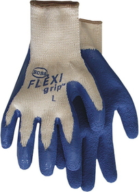 Boss Flexigrip Latex Palm Glove Blue / Large - 8426L