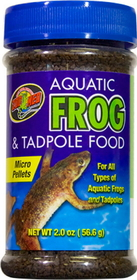 Zoo Med Aquatic Frog & Tadpole Food / 2 Ounce - Zm-16