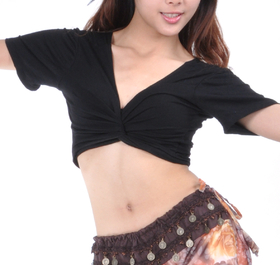 BellyLady Belly Dance Short Sleeved Top