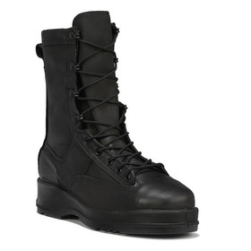 Belleville Waterproof Black Safety Toe Flight & Flight Deck Boot