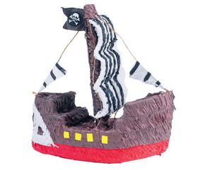 YA OTTA PINATA   12933 Pirate Ship Pinata