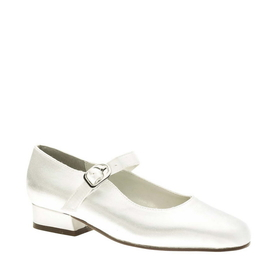 Touch Ups by Benjamin Walk Women's  Sabrina Shoes Satin White