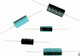 Capacitor - Axial Lead Electrolytic, 33 &#181;F @ 450 VDC