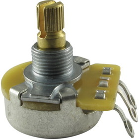 Potentiometer - Original Fender, 50K Audio, Split Shaft, &#188;&quot; Bushing