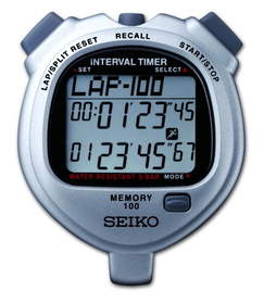 SEIKO S057 - 100 Lap Memory Dual Timers
