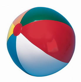 Champion Sports IB12 Multi-Colored Beach Ball