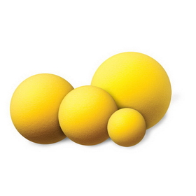 Champion Sports RD6 Uncoated Regular Density Foam Balls, Price/each