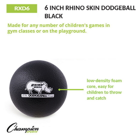 Champion Sports RXD6 Rhino Skin Foam Balls, Price/each
