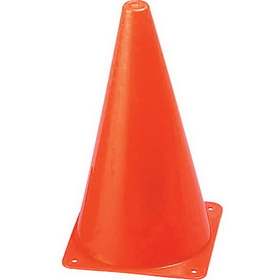 Champion Sports TC9 Hi Visibility Fluorescent Plastic Cone Set