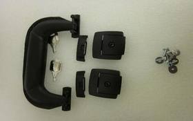 C.H. Ellis Black Handle and Lock Kit, product #: 09-5198