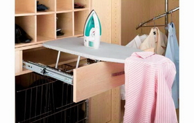 Rev-A-Shelf CIB-16CR Pull-Out Ironing Board - Closet Depth