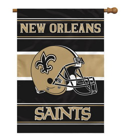 New Orleans Saints 28&quot;x40&quot; 2-Sided Banner