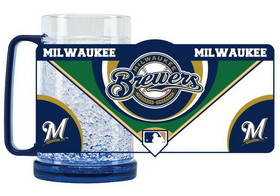 Milwaukee Brewers Crystal Freezer Mug