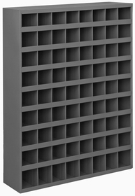 "Durham 363-95 12"" Deep Sloped Parts Bins"