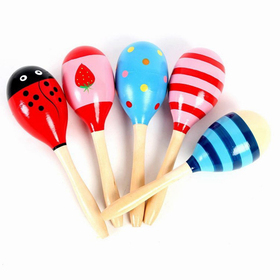 Big Colorful Maracas, Party Suppliers, Graduation Gift, Price/Dozen