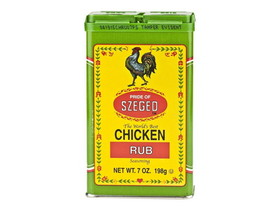 Bulk Foods 6/7oz Szeged-Chicken Rub, Price/Case