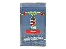 Szeged 6/5oz Szeged Fish Rub, Price/Case
