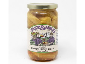 Jake & Amos 12/16oz J&A Pickled Sweet Baby Corn, Price/Case