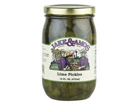 Jake & Amos 12/16oz J&A Lime Pickles, Price/Case