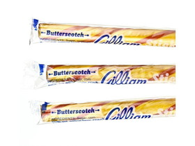 Gilliam Candy 80ct Candy Sticks Butterscotch, Price/Box