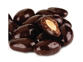 Bulk Foods 15lb Dark Chocolate Almonds, Price/Case