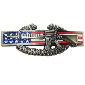 "Eagle Emblems BUCKLE-ARMY, CIB (3-3/4"")"