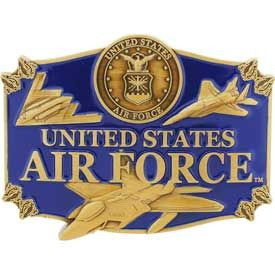 "Eagle Emblems BUCKLE-USAF (3-1/4"")"