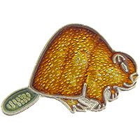 "Eagle Emblems PIN-BEAVER  (1"")"