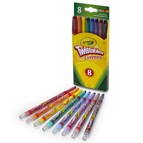Crayola BIN527408 Twistables Crayons 8 Ct, Price/EA