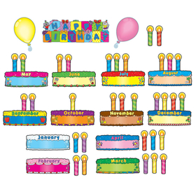 Carson Dellosa CD-110038 Birthday Cakes Mini Bb Set, Price/EA