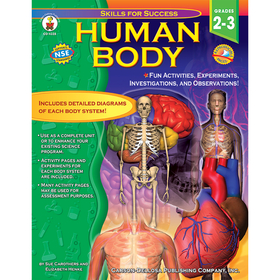 Carson Dellosa CD-4328 Human Body Gr 2-3, Price/EA