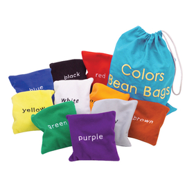 Educational Insights EI-3046 Colors Bean Bags, Price/EA