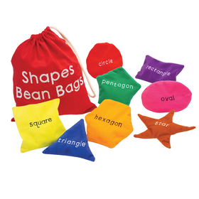 Educational Insights EI-3048 Shapes Bean Bags, Price/EA