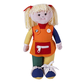 Childrens Factory FPH856 Learn To Dress Doll White Girl, Price/EA