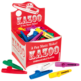 Hohner HOHKC50 Kazoo Classpack Pack Of 50 Assorted Colors, Price/EA