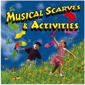 Kimbo Educational KIM9167CD Musical Scarves & Activities Cd Ages 3-8, Price/EA