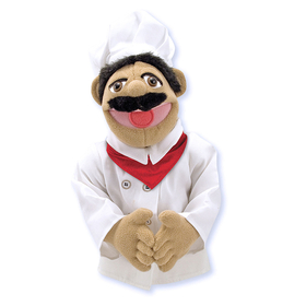 Melissa & Doug LCI2553 Chef Puppet, Price/EA