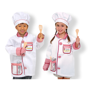 Melissa & Doug LCI4838 Chef Role Play Costume Set, Price/EA