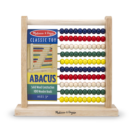 Melissa & Doug LCI493 Wooden Abacus, Price/EA