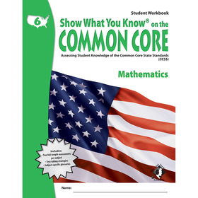 Lorenz / Milliken LEPNA3621 Gr 6 Student Workbook Mathematics Show What You Know On The Common, Price/EA