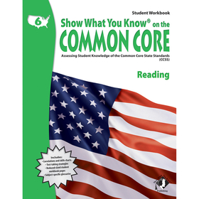 Lorenz / Milliken LEPNA3651 Gr 6 Student Workbook Reading Show What You Know On The Common Core, Price/EA