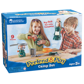 Learning Resources LER2653 Pretend And Play Camp Set, Price/EA