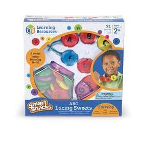 Learning Resources LER7204 Abc Lacing Sweets, Price/EA
