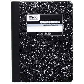Mead Products MEA09910 Notebook Composition 100 Ct 9 3/4 X 7 1/2, Price/EA